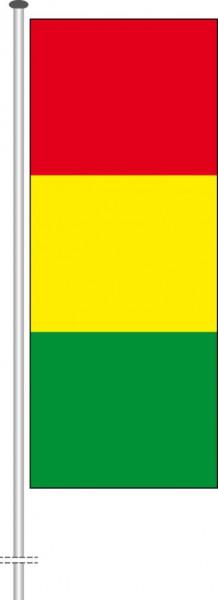 Guinea als Hochformatfahne