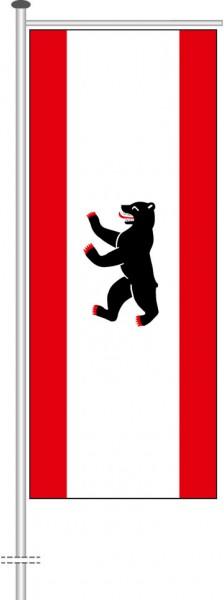 Berlin - Bürgerflagge als Auslegerfahne