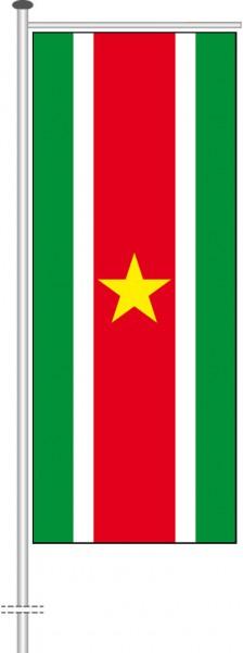Suriname als Auslegerfahne