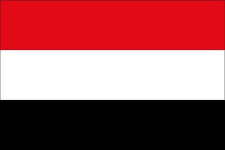 Jemen als Fanfahne