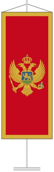 Montenegro als Tischbanner