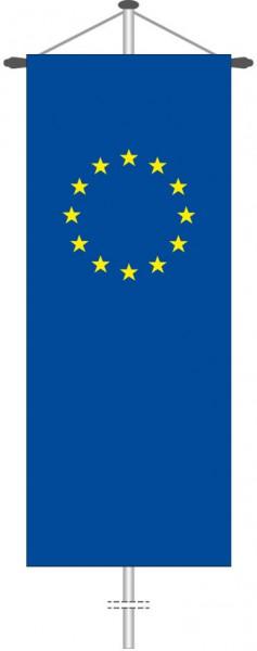 Europarat als Bannerfahne