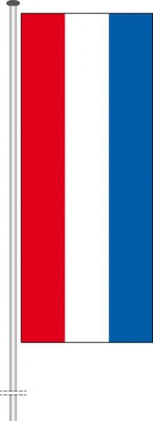 Niederlande als Hochformatfahne