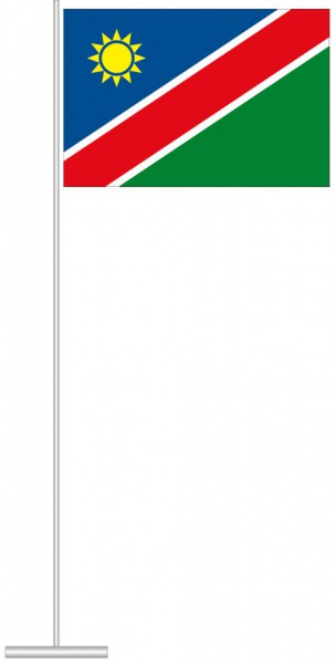 Namibia als Tischfahne