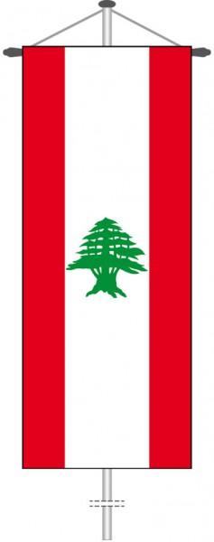 Libanon als Bannerfahne
