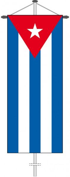 Kuba als Bannerfahne