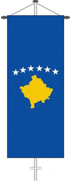 Kosovo als Bannerfahne