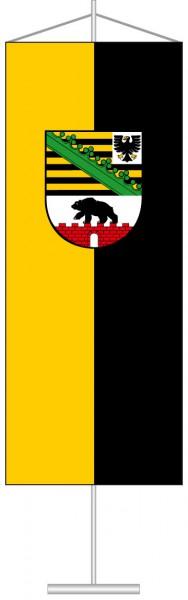 Sachsen-Anhalt - Dienstflagge als Tischbanner