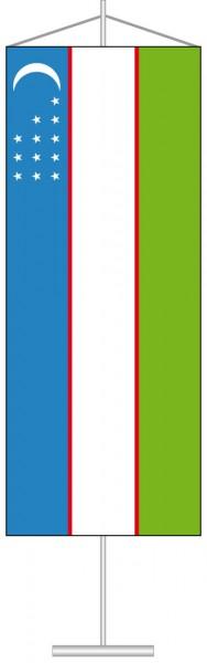 Usbekistan als Tischbanner
