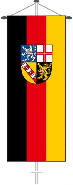 Saarland - Bürgerflagge als Bannerfahne