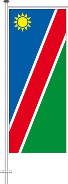 Namibia als Auslegerfahne