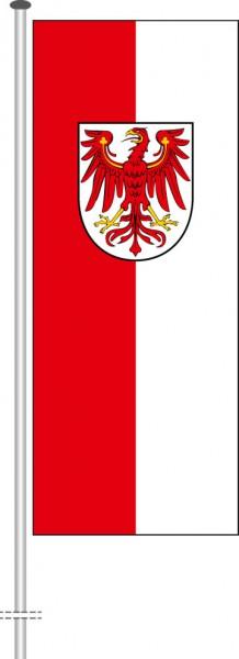 Brandenburg - Bürgerflagge als Hochformatfahne