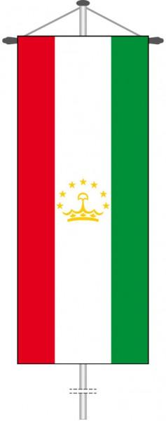Tadschikistan als Bannerfahne
