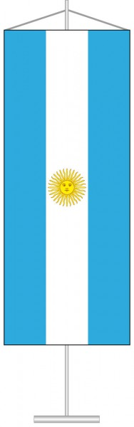 Argentinien als Tischbanner