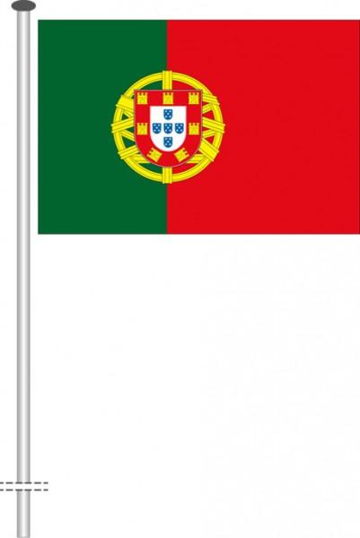 Portugal als Querformatfahne
