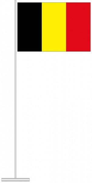Belgien als Tischfahne