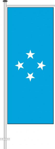 Mikronesien als Auslegerfahne