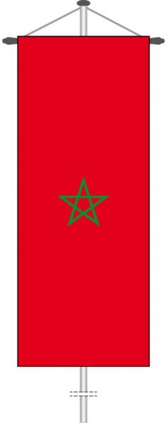 Marokko als Bannerfahne