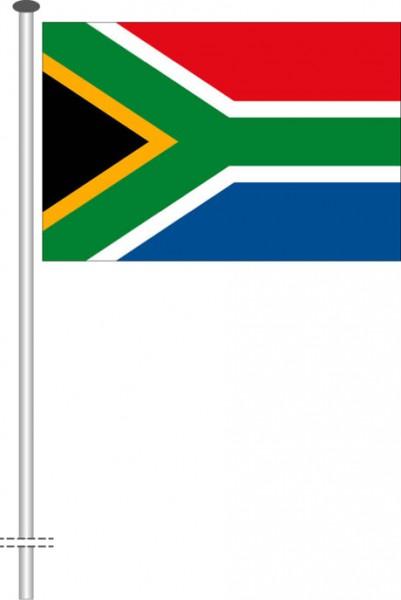 Suedafrika als Querformatfahne