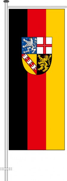 Saarland - Bürgerflagge als Auslegerfahne