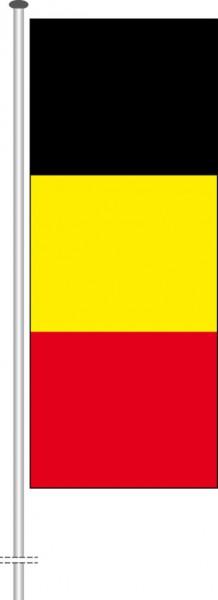 Belgien als Hochformatfahne