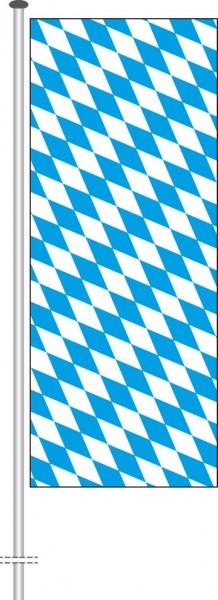 Bayern - Raute als Hochformatfahne