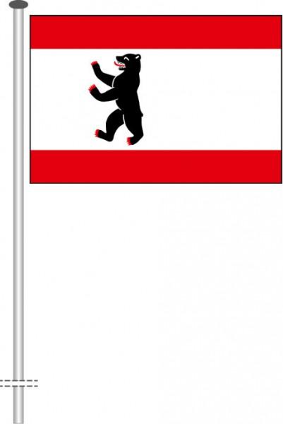 Berlin - Bürgerflagge als Querformatfahne