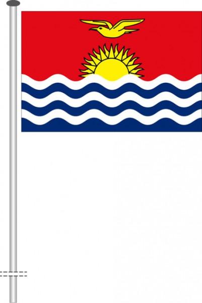Kiribati als Querformatfahne