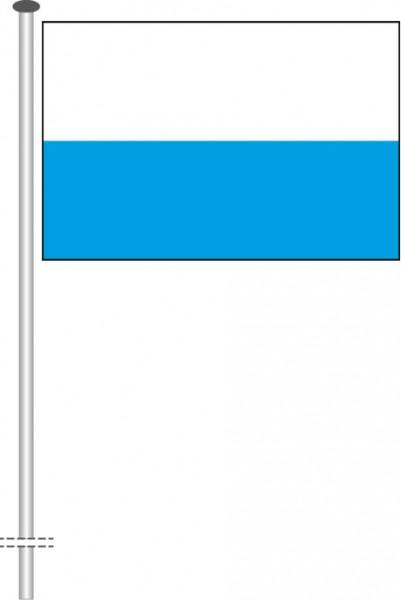 Bayern - Streifenflagge als Querformatfahne