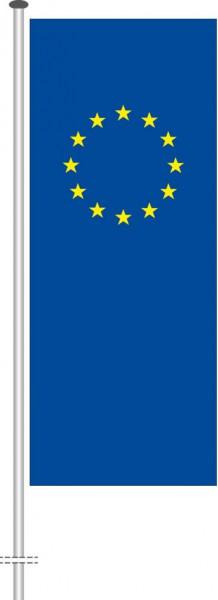 Europarat als Hochformatfahne