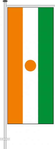 Niger als Auslegerfahne