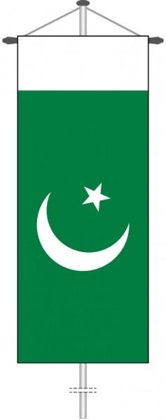 Pakistan als Bannerfahne