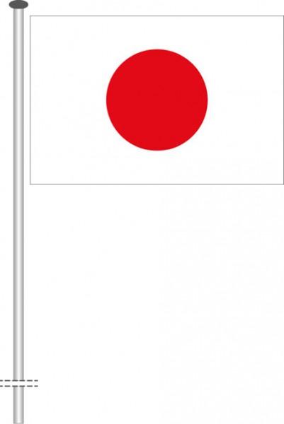 Japan als Querformatfahne