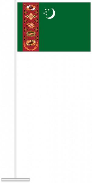 Turkmenistan als Tischfahne