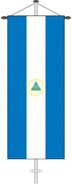 Nicaragua als Bannerfahne