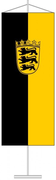 Baden-Würtemberg - Dienstflagge als Tischbanner
