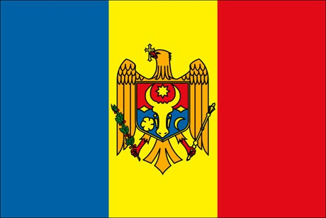 Moldawien als Fanfahne