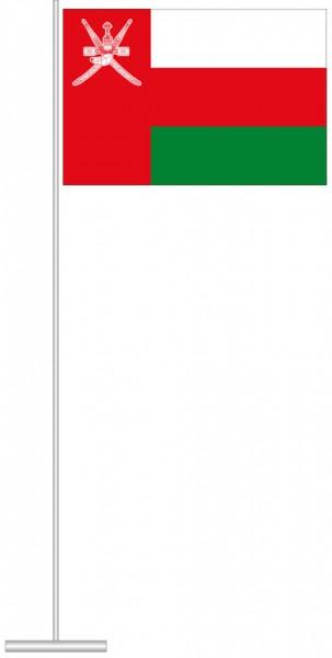 Oman als Tischfahne