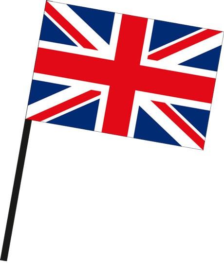Großbritannien als Stockfahne