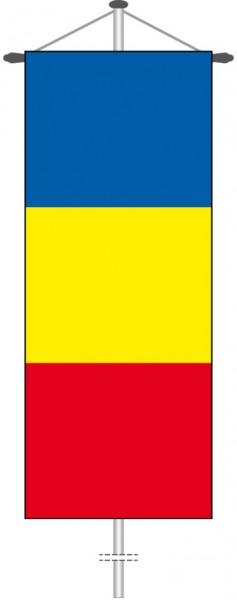 Tschad als Bannerfahne