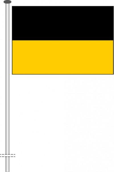 Baden-Würtemberg - Streifenflagge als Querformatfahne