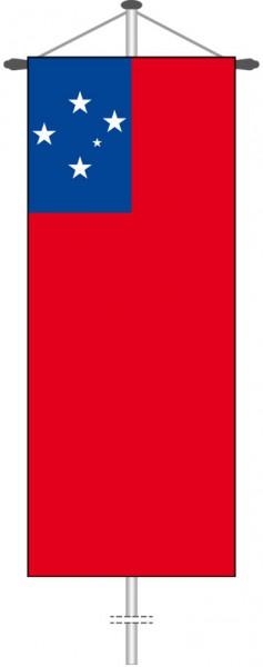 Samoa als Bannerfahne