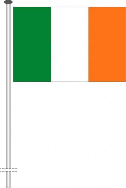 Irland als Querformatfahne