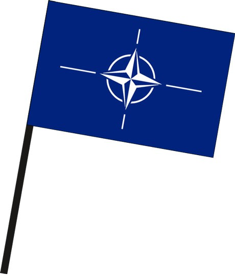 Nato als Stockfahne
