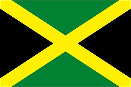 Jamaika als Fanfahne