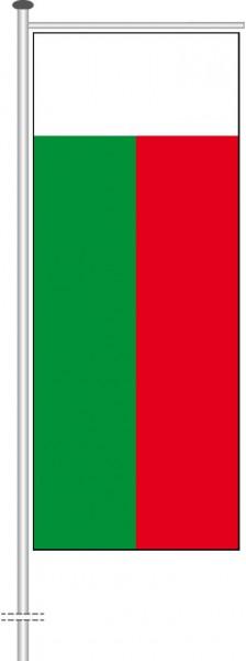 Madagaskar als Auslegerfahne