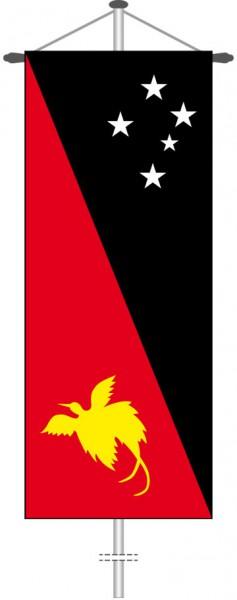 Papua-Neuguinea als Bannerfahne