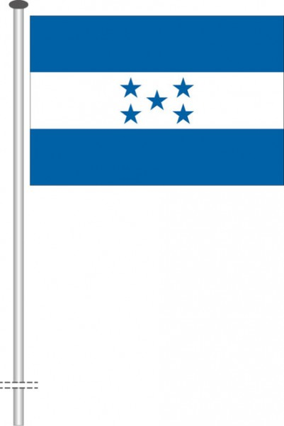 Honduras als Querformatfahne