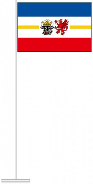 Mecklenburg-Vorpommern - Dienstflagge als Tischfahne