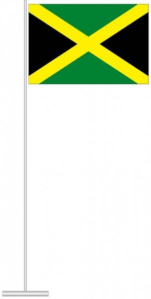 Jamaika als Tischfahne